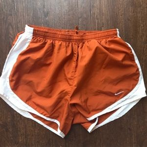 Nike Dri-Fit tempo Texas longhorn burnt orange XS